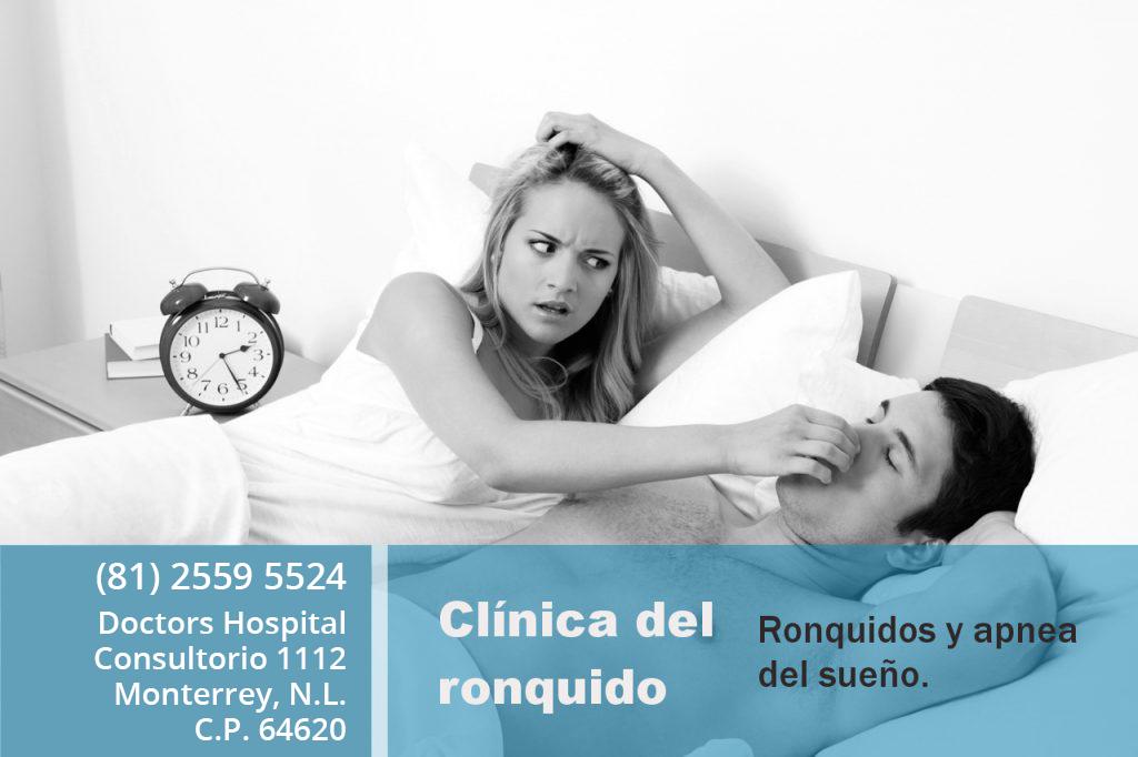 Clínica del ronquido en Monterrey - Dr. Rafael Moreno Sales