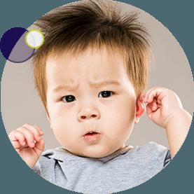 dolor de oidos en ninos